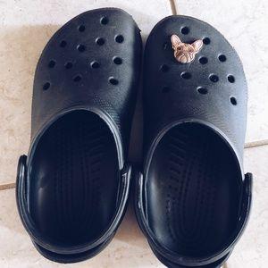 Women's black crocs!!